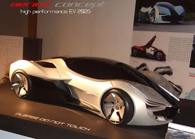 Aerius Electric Concept Eco car