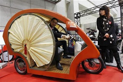 Meguru Eco Friendly Electric Car