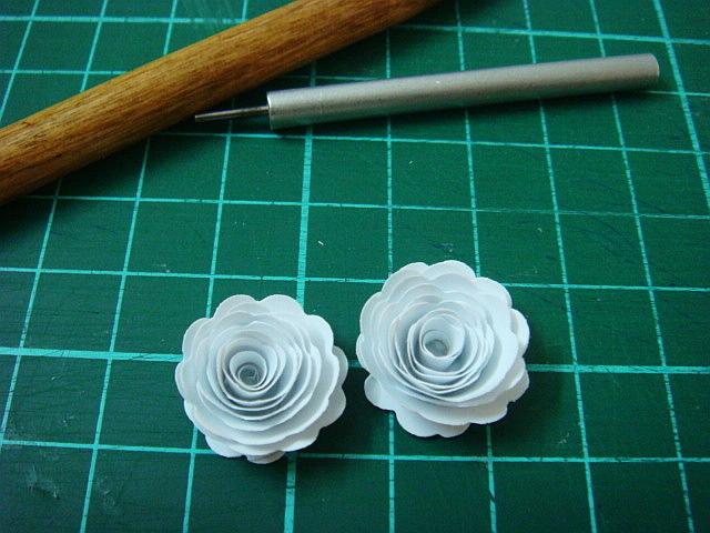 Как сделать розу для квиллинга 523