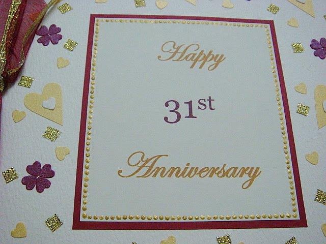 31st Weding Aniversary Gift 016 - 31st Weding Aniversary Gift