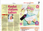 FEATURED IN BERITA HARIAN - RATU