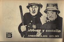 Las películas de Abbot y Costello