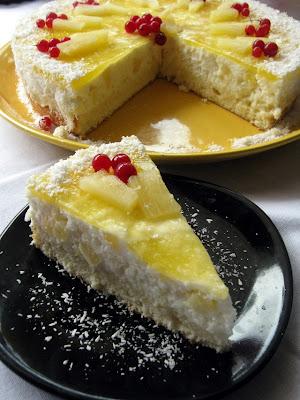 Articole culinare : Tort tropical cu orez si ananas