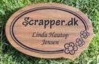 KORT & STEMPEL DESIGNER FOR SCRAPPER.DK