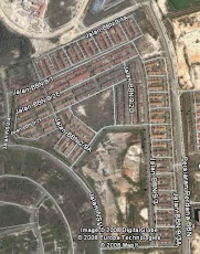 Desa Anggerik From Google Earth
