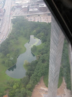 View From Gateway Arch, St. Louis