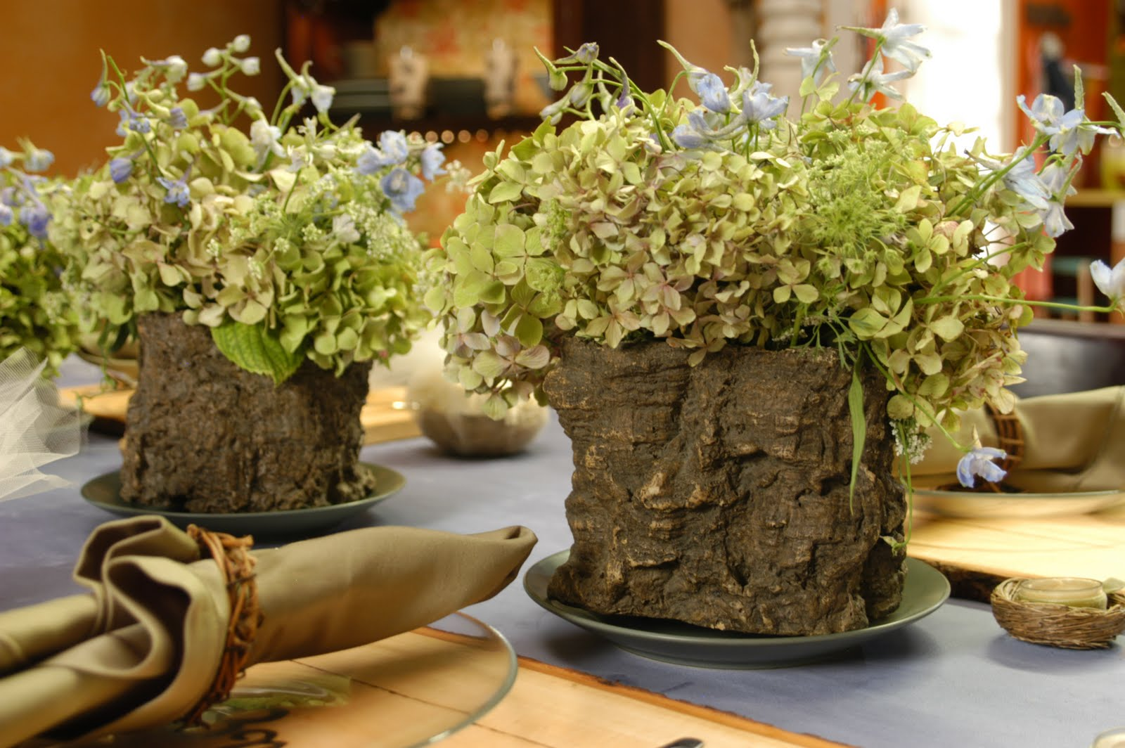Dried Foam Centerpieces Ideas Simple Home Decoration