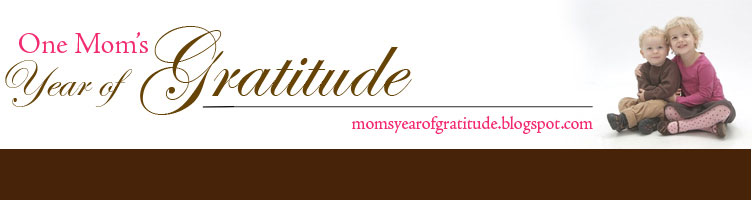 One Mom's Year of Gratitude