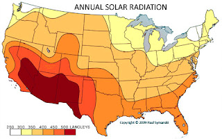 Annual Solar Radiation