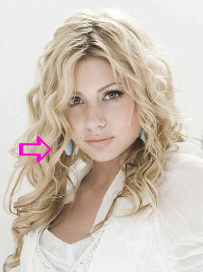 Aly Michalka wearing a pair of Jenny Dayco earrings