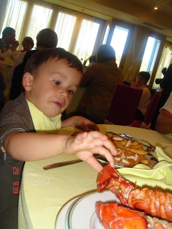 La variedad en la dieta de los niños hace que su crecimiento sea rápido