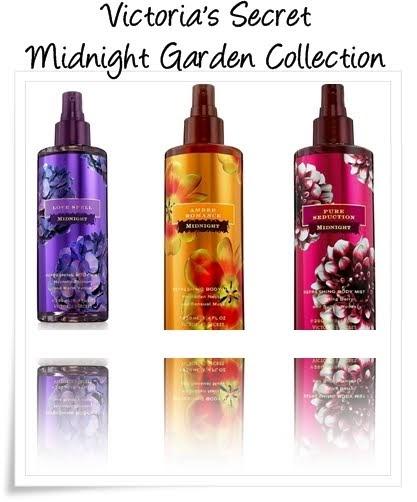 Victoria 39 s secret heaven limited edition midnight garden collection for Victoria s secret victoria gardens
