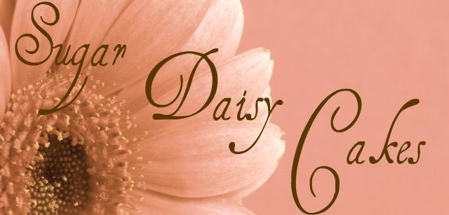 Sugar Daisy Cakes