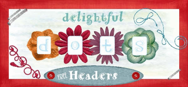 Delightful Dots Headers