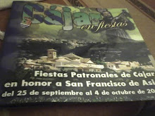 PROGRAMA DE FIESTAS DE CÁJAR.