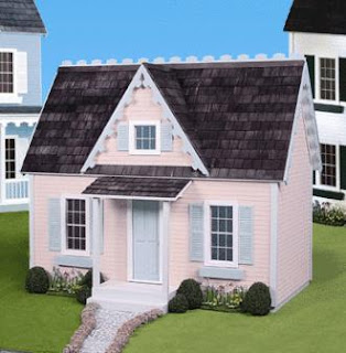 Crafty capers doll house kits at crafty capers Victorian cottages kit homes