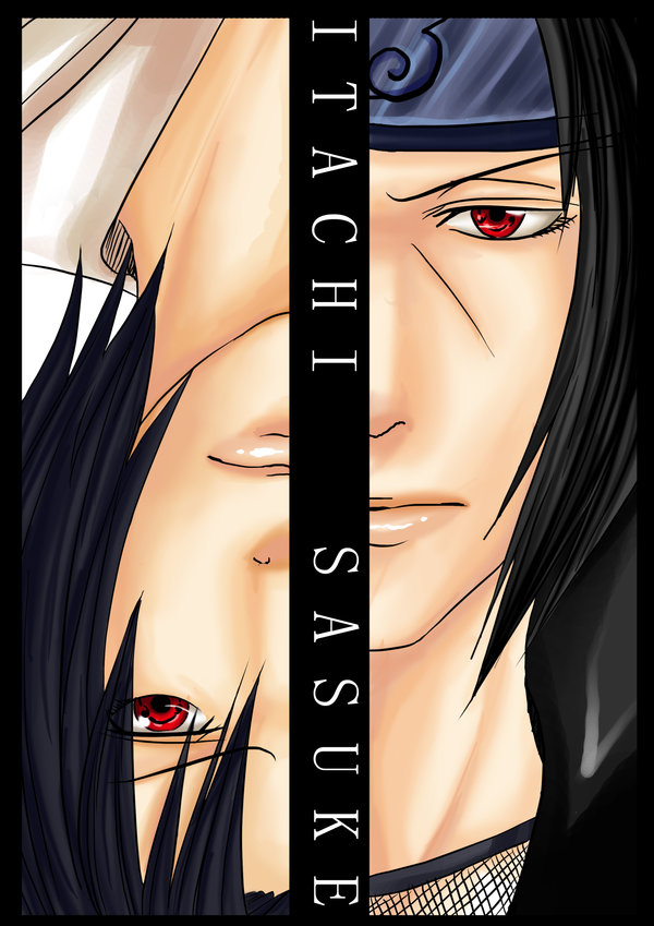 Itachi+and+sasuke+sharingan