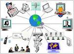 A comunicação é transmitida por diferentes símbolos.