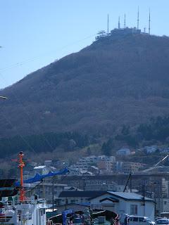 函館山をのぞむ