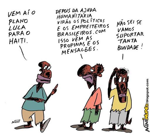 Enquanto isso, no Haiti. O Plano Lula