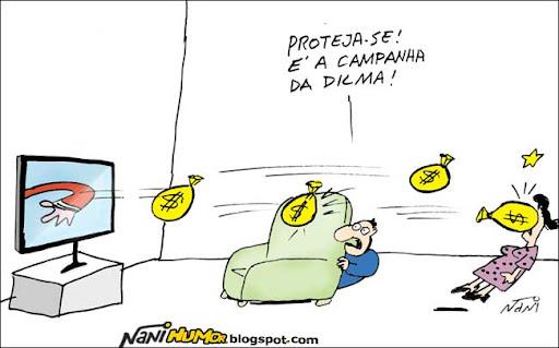 Campanha da Dilma será cara
