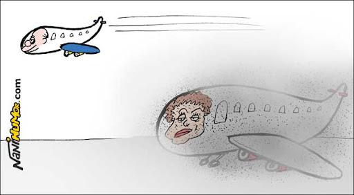 Os voos de Dilma e Serra