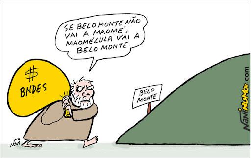 Se Belo Monte não vai a Maomé, Maomélula vai a Belo Monte