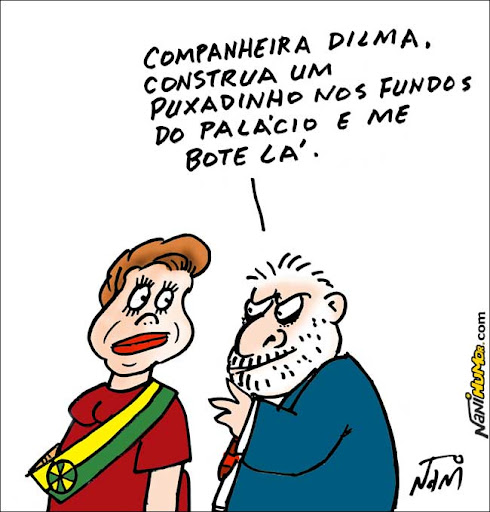 PUxadinho no governo Dilma para Lula