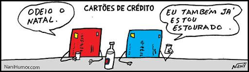 natal: cartão de crédito estourado