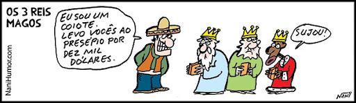 Os 3 Reis Magos.  coiote