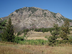 A Mountain in South-Central Montana