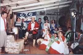 Primeiras Prendas elegidas do CTG Unidos Pela Tradição 2005/2006