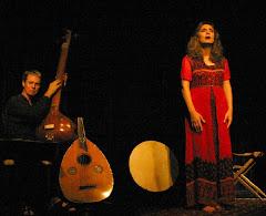 ...Catherine Braslavsky et Joseph Rowe, compositeurs et interprètes de la  musique de scène