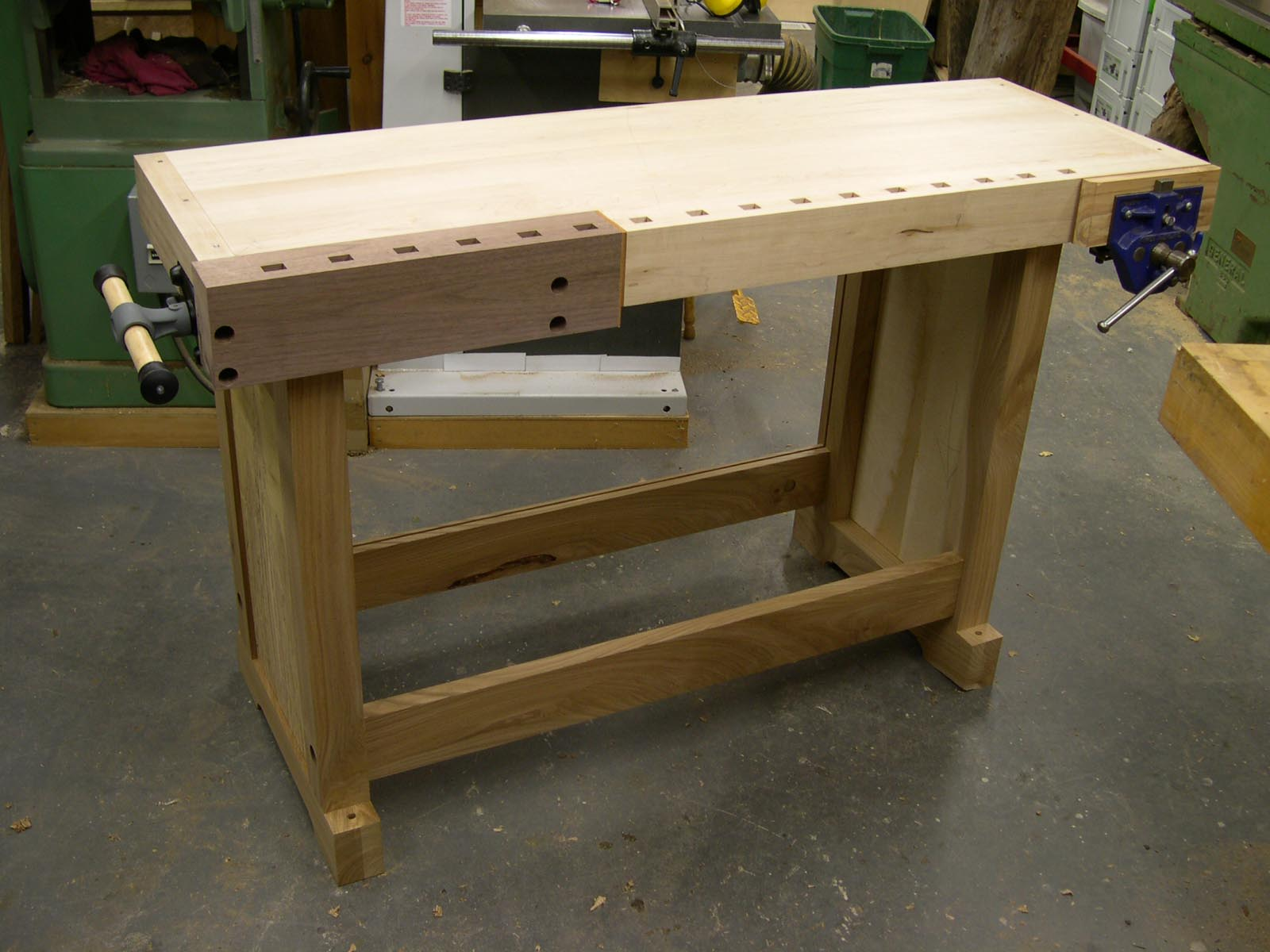 Woodwork Woodworking Bench Build Pdf Plans