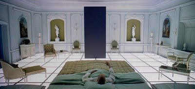 Scene from '2001: A Space Odyssey'