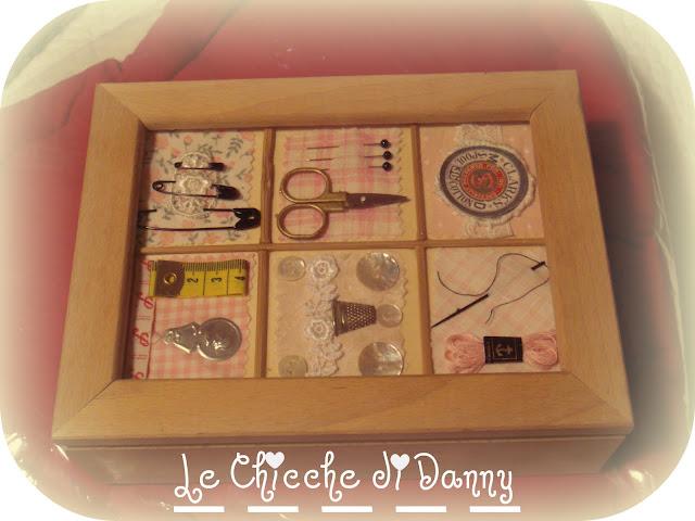 Le chicche di danny scatole da ricamo seconda parte - Scatola porta rocchetti ...