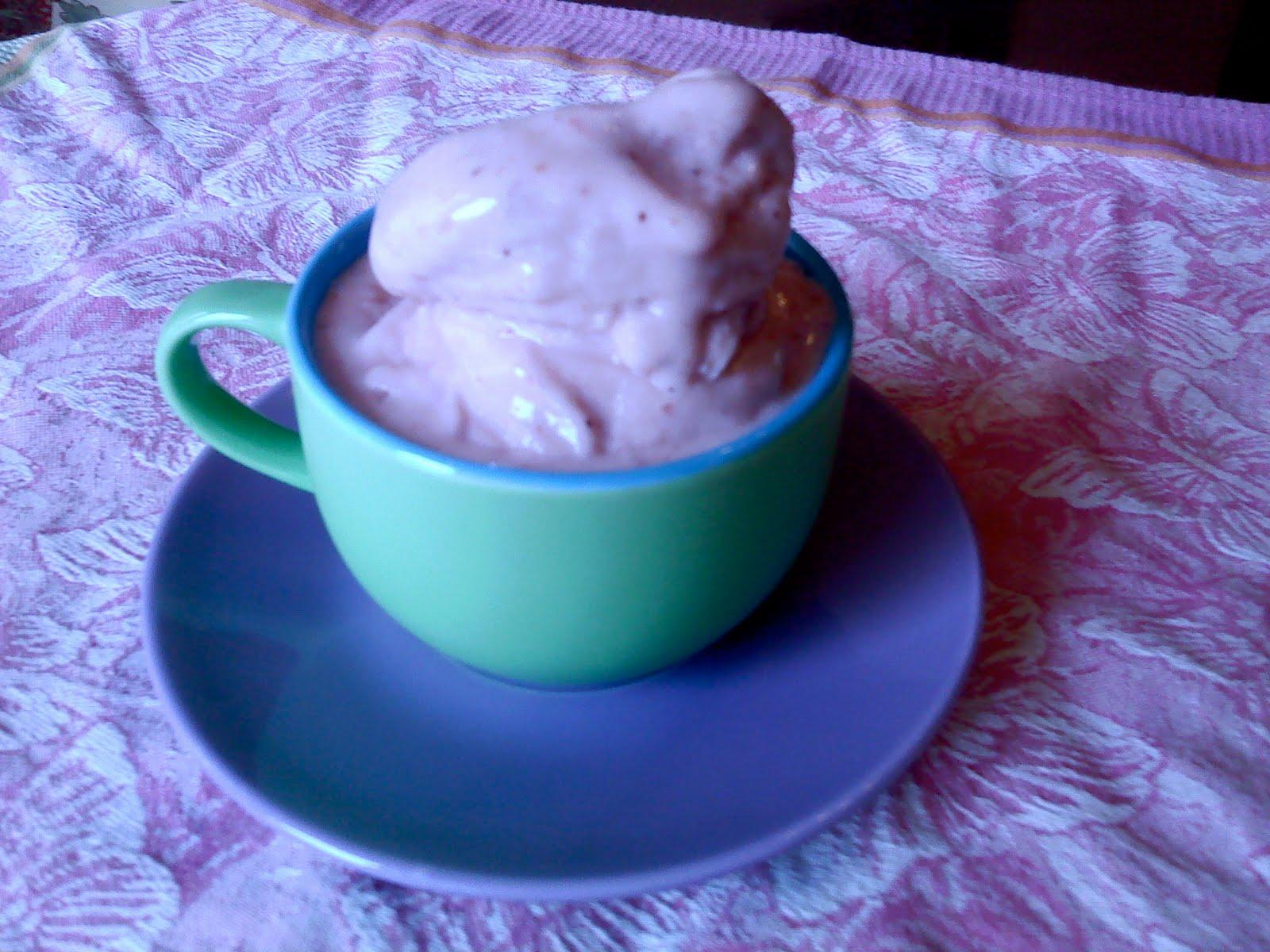 tamoliver: homemade yogurt ice cream: vanilla and ...