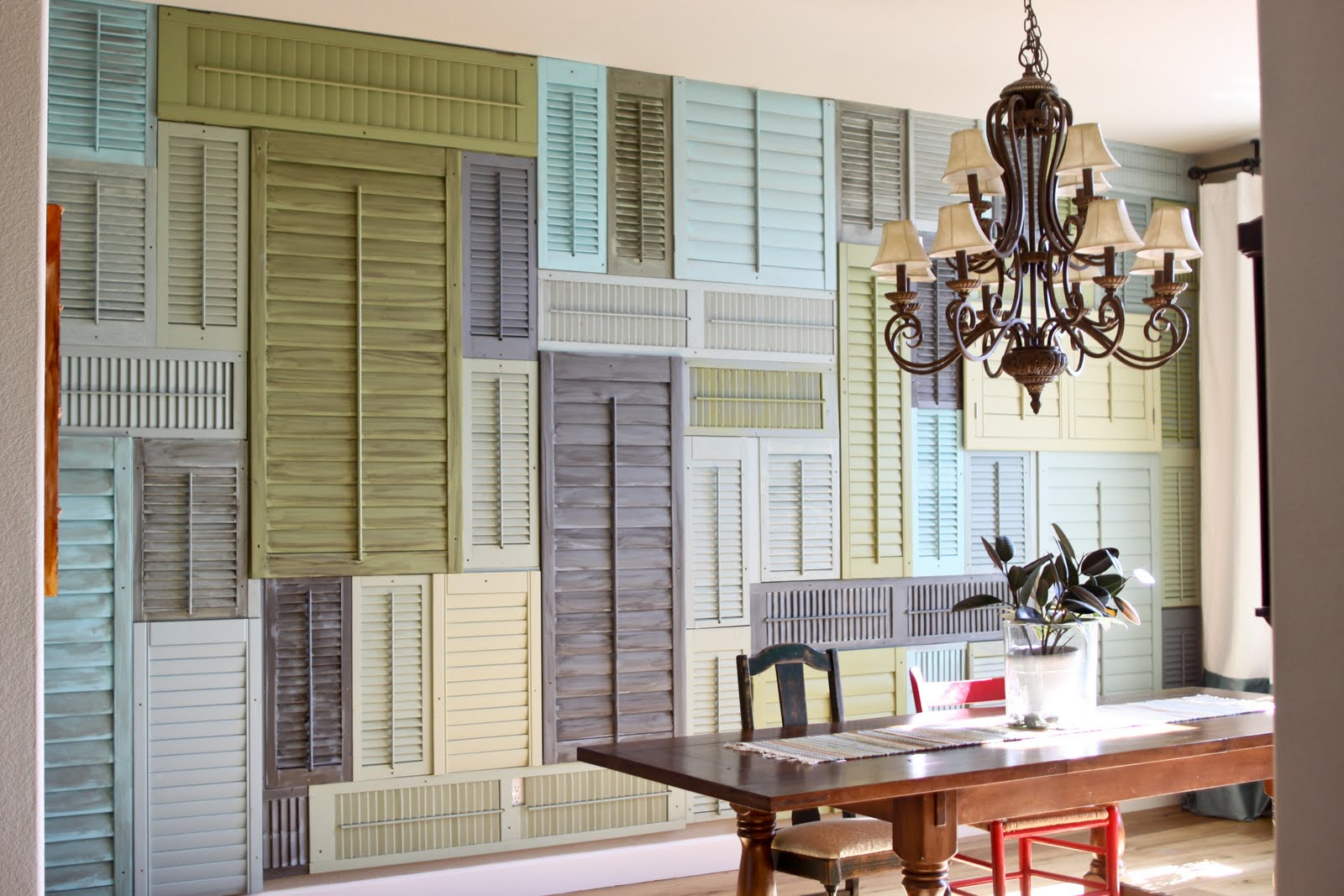 House shutter projects