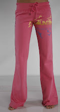 The Hot Pant: Country Love's 'Bird's Fly' Flare Sweats in Watermelon $99