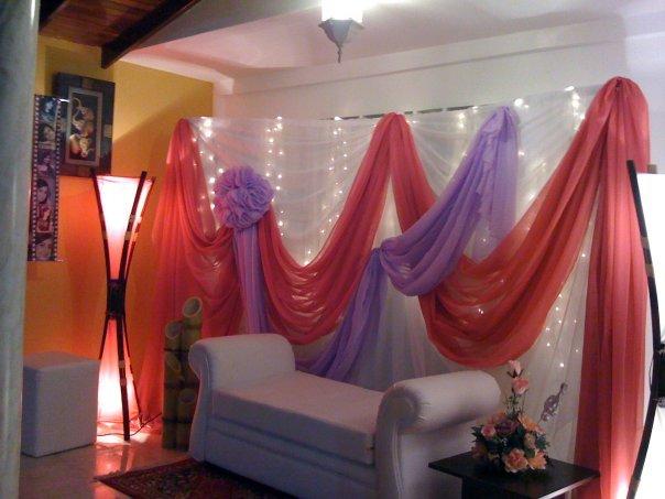 eventos creativos ca decoraciones con telas