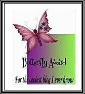 """""""Butterfly"""" Award"""