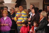 Бойко Борисов и Цветан Цветанов посетиха град Годеч на Великден