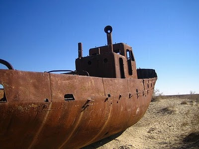 Aral Sea+ 12 791259 Gambar Laut Ke 4 Terbesar Dunia Yang Telah Hilang Tahun 2008