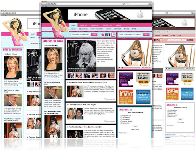 Image for CelebrityPress WordPress Magazine Fashion Theme