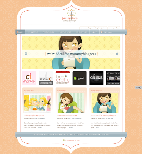 Family Tree Child Theme Free Download.