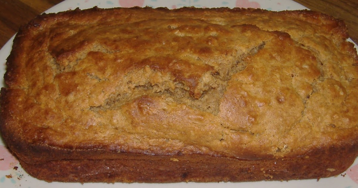 Paint Chips and Frying Pans: Peanut Butter Banana Bread