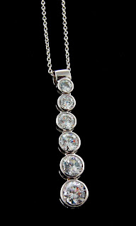 Cubic Zirconia Jewelry-CZ necklaces