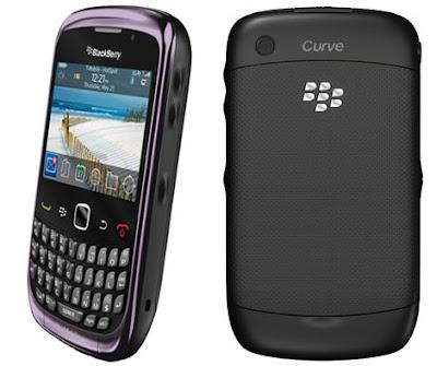 Harga BlackBerry Curve 3G 9300 Terbaru 2013
