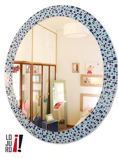 Lojuro espejos redondos ovalados rusticos modernos for Espejos redondos modernos