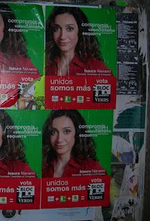 Isaura en castellà al centre de València